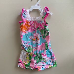 Lilly Pulitzer 12m girls Romper